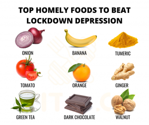 6 Foods that fight Depression and boost your mood