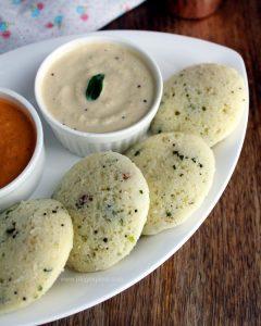 Plain Rava idli recipe