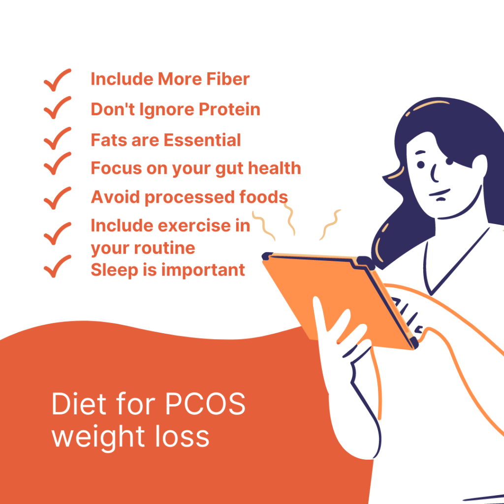 Diet for pcos weight loss