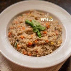 Vegetable Dalia Khichdi