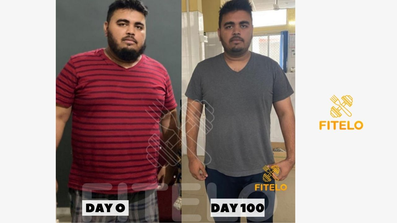 before and after weight loss success story