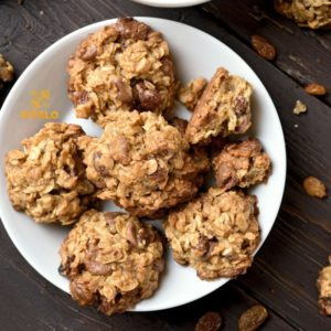 Healthy guilt free oats cookies