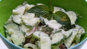 Cucumber zest recipe