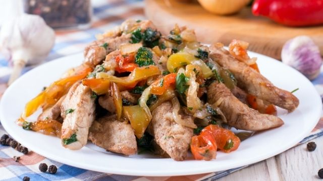 Chicken and Basil stir fry recipe
