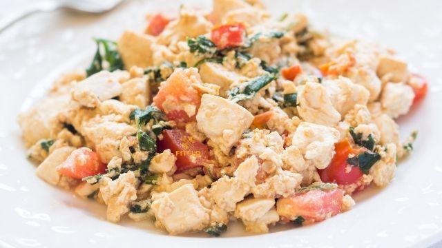 Tofu scrambled recipe