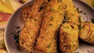 Potato and Corn Stuffed Roll recipe