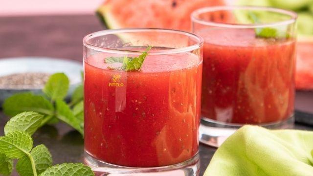 Watermelon Chia Slush Recipe