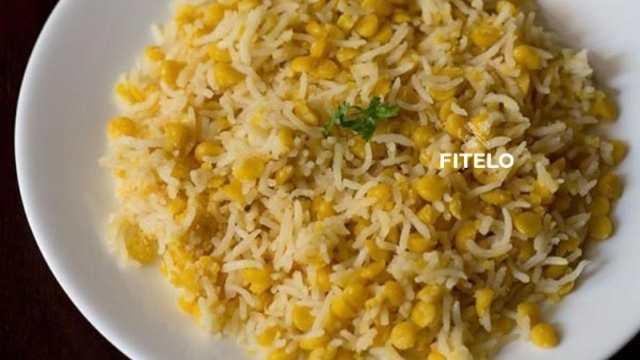 Chana Dal Pulao recipe