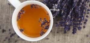Purple lavender tea recipe