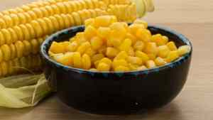 Is sweet corn good for weight loss?