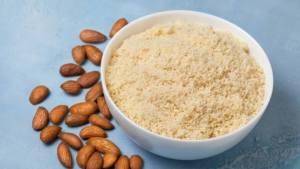 Almond flour roti