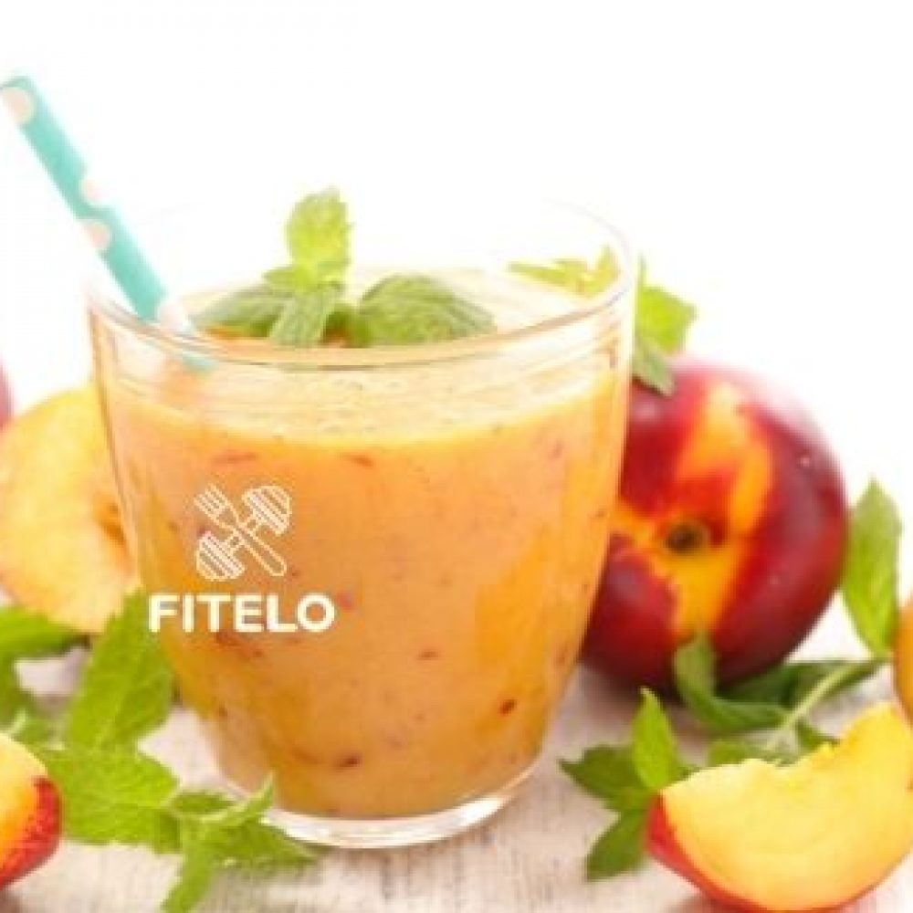Peach weight loss smoothie recipe