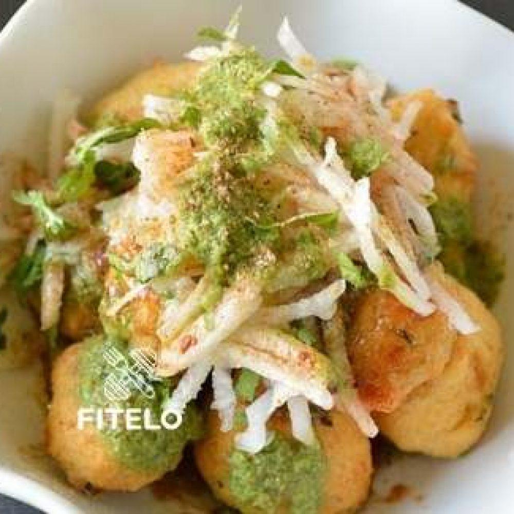 Ram Ladoo chaat recipe