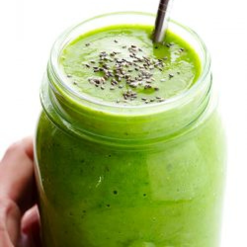 Cucumber, Kiwi, Mint Green Smoothie Recipe
