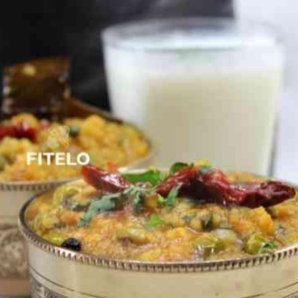 Palak Dal Khichdi recipe
