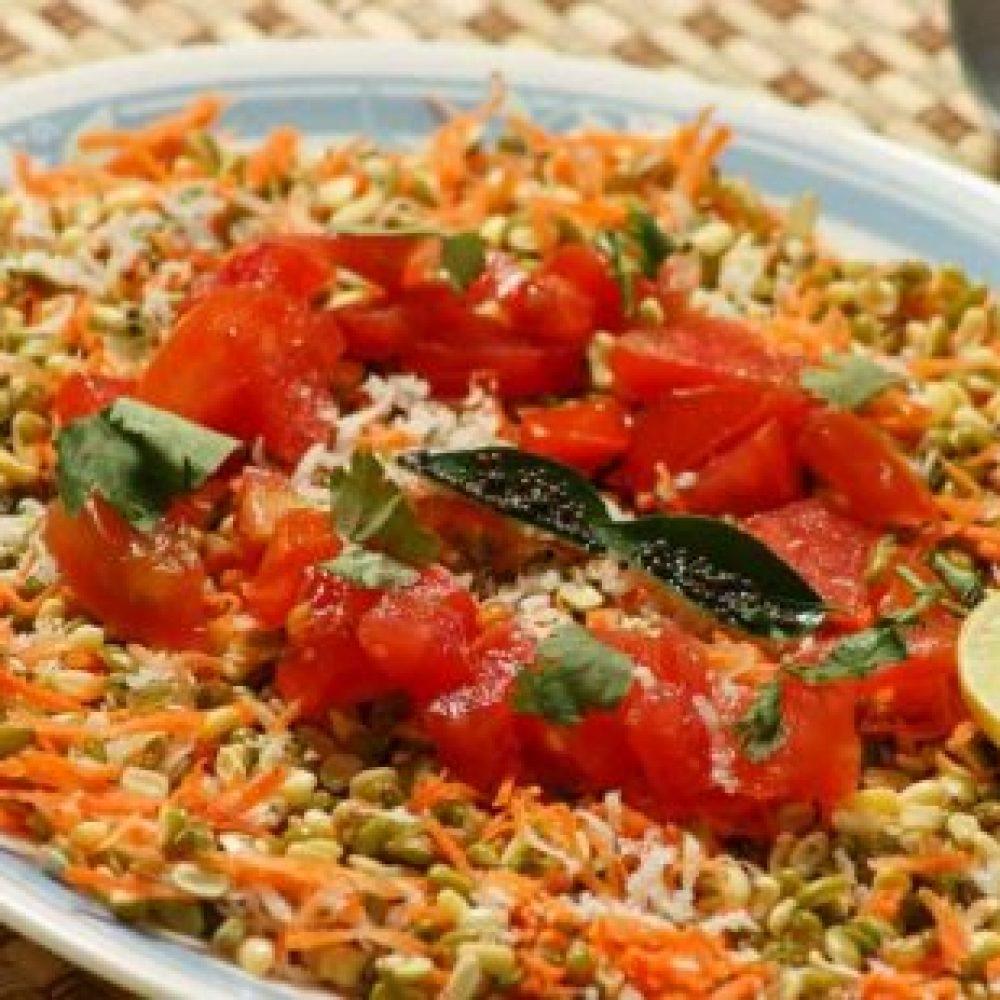 Moong Dal Bhelpuri Recipe