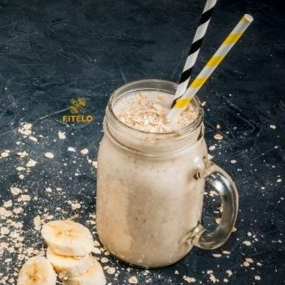 Mixed fruit curd oatmeal smoothie recipe