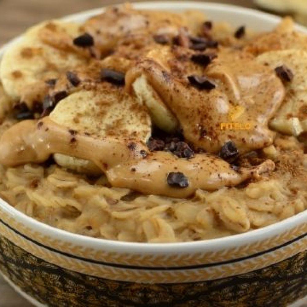 Oatmeal Peanut butter Porridge recipe