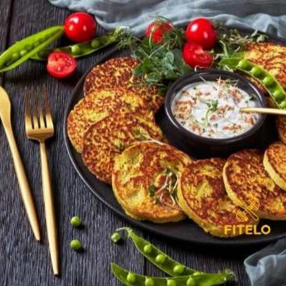 Pea Pancake Recipe