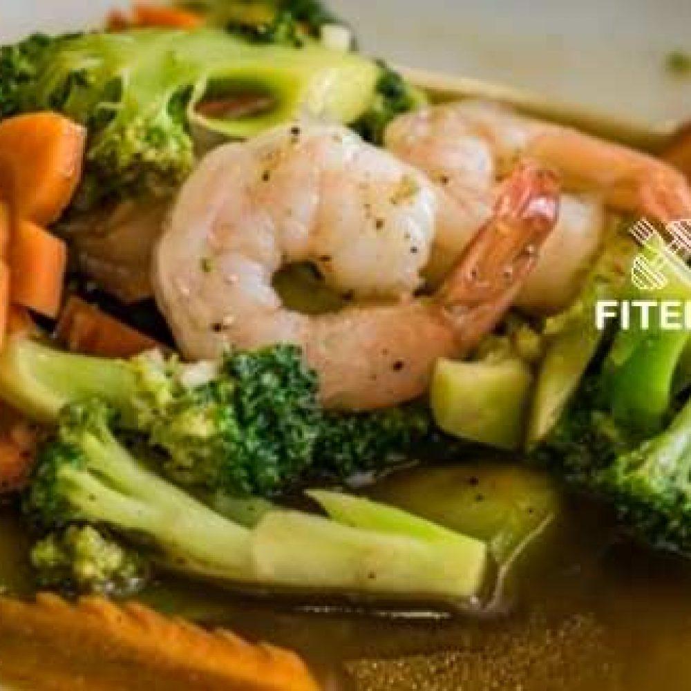 Instant Pot Shrimps and Broccoli recipe